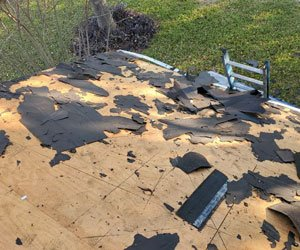 Roofing company in Galveston