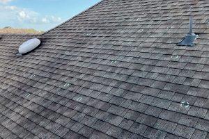 Roof Hail Damage marks